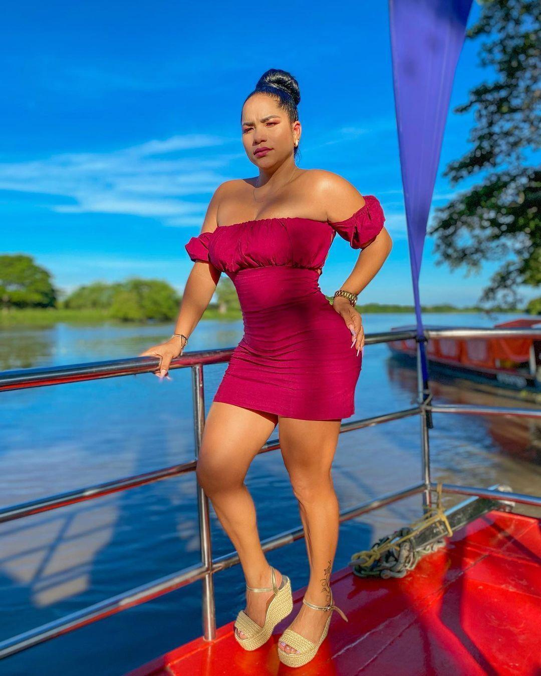 Ізабель Кастро, мама трьох дітей.