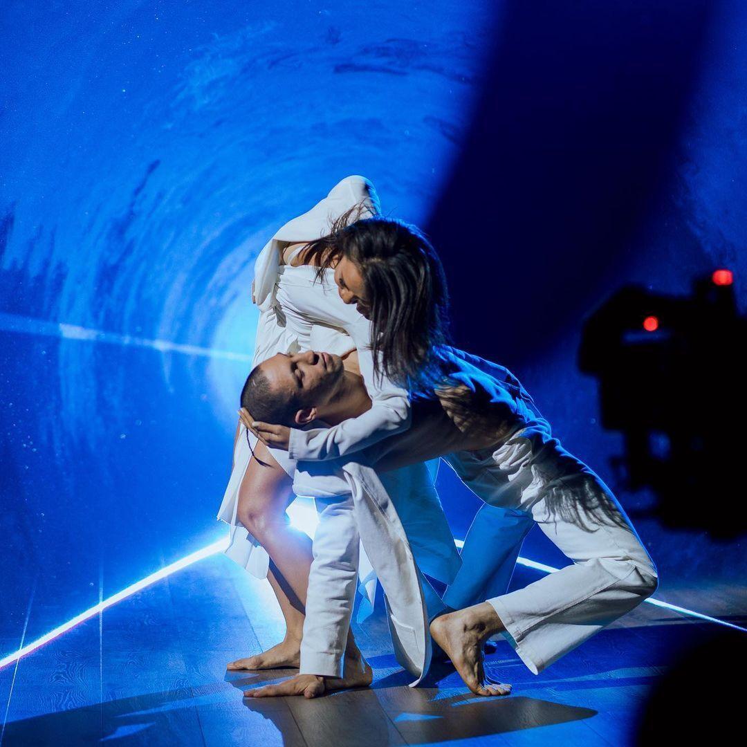 Станіслав Горуна під час першого танцю в шоу.