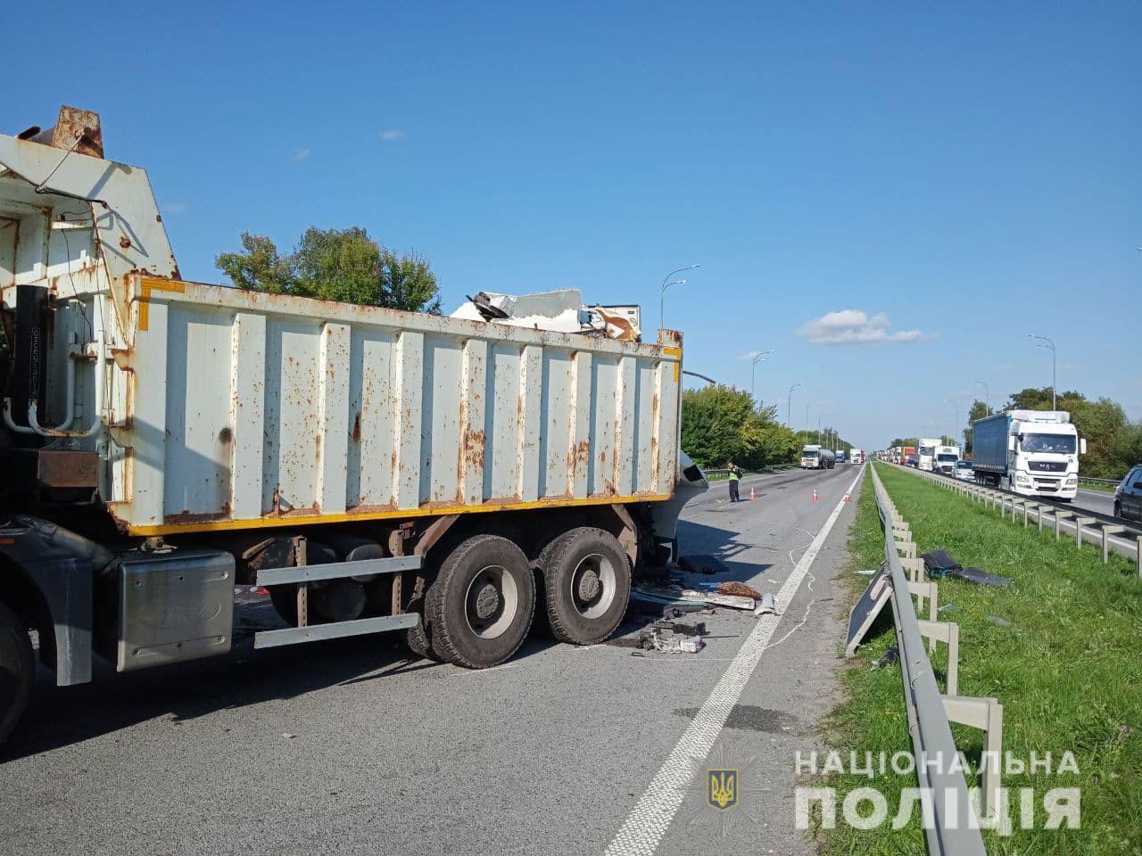 Аварія сталася на ділянці дороги, яка ремонтувалася