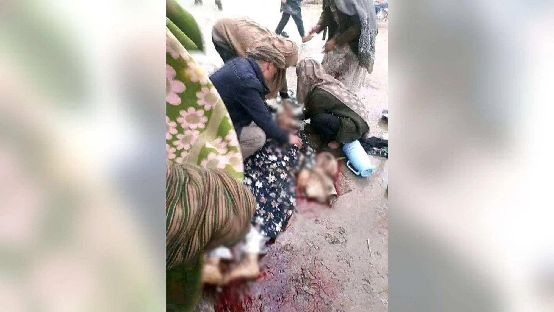 Боевики убили женщину, потому что она не надела хиджаб.