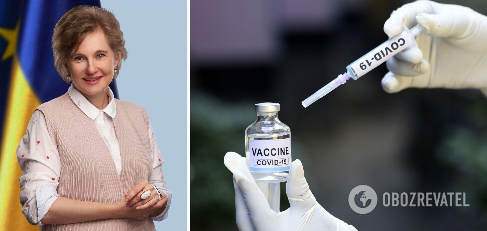 Нелогічно вимагати від усіх медиків вакцинації проти COVID-19, – Голубовська