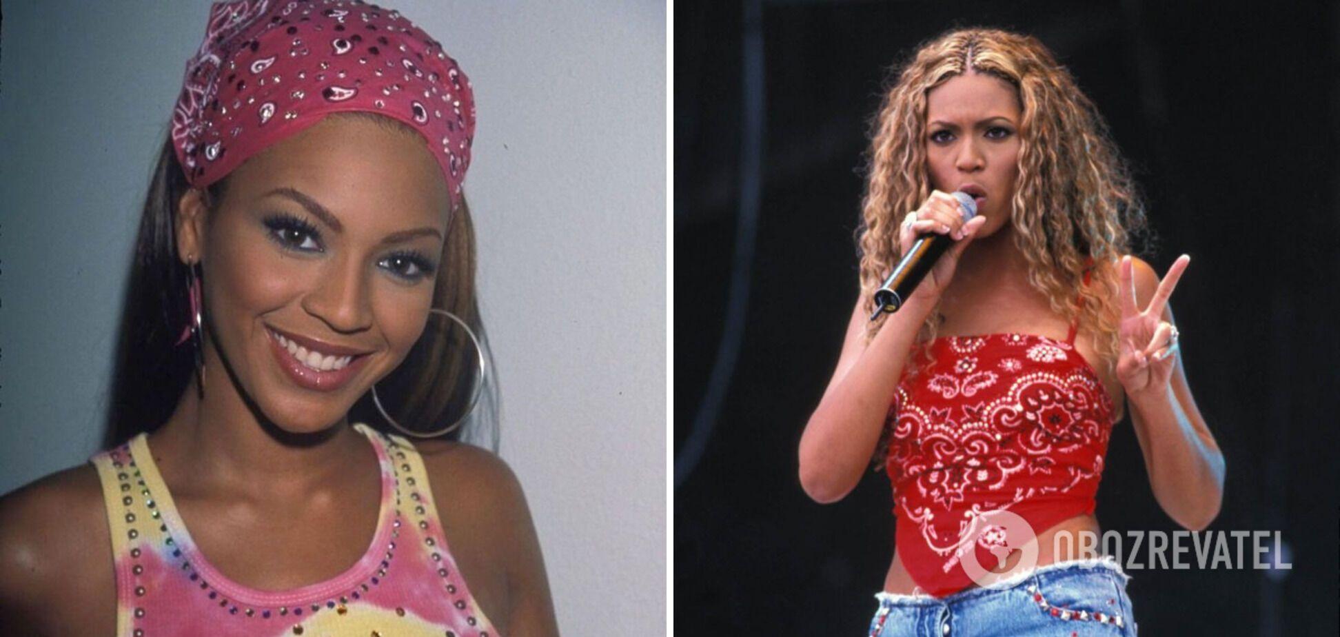 Співачка Бейонсе в 90-х тільки починала кар'єру