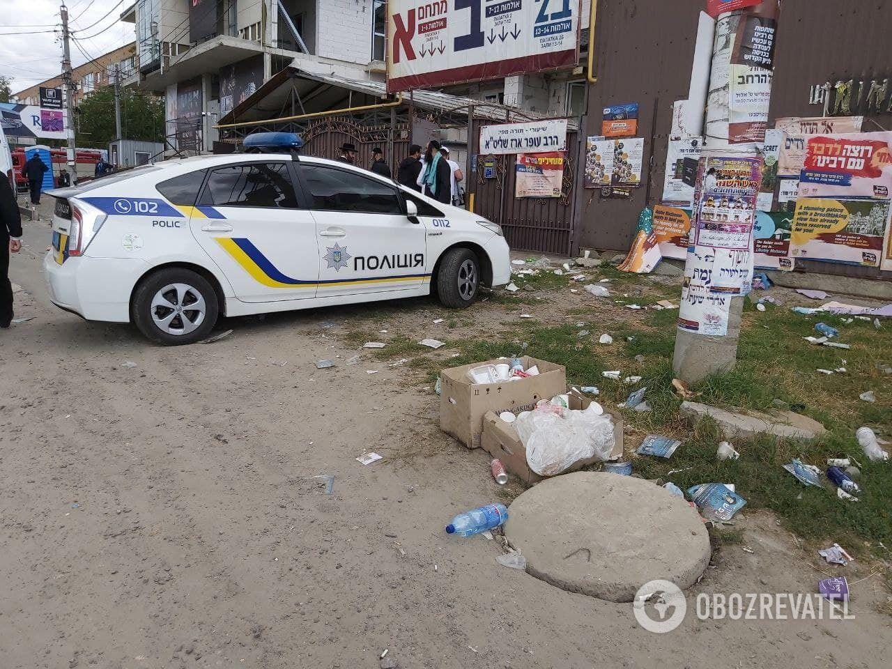 Поліцейський рейд в Умані