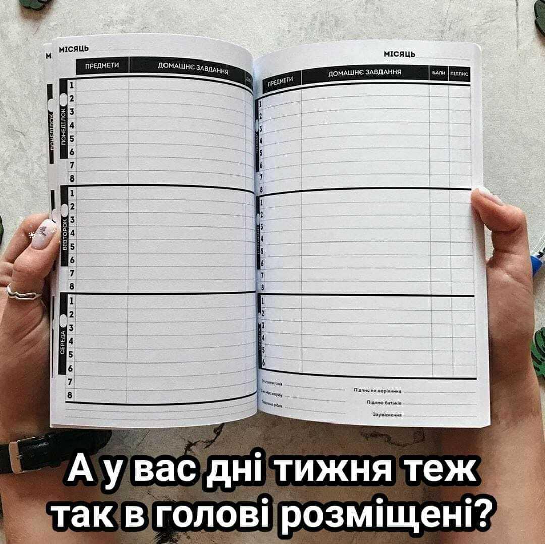 Мем о днях недели