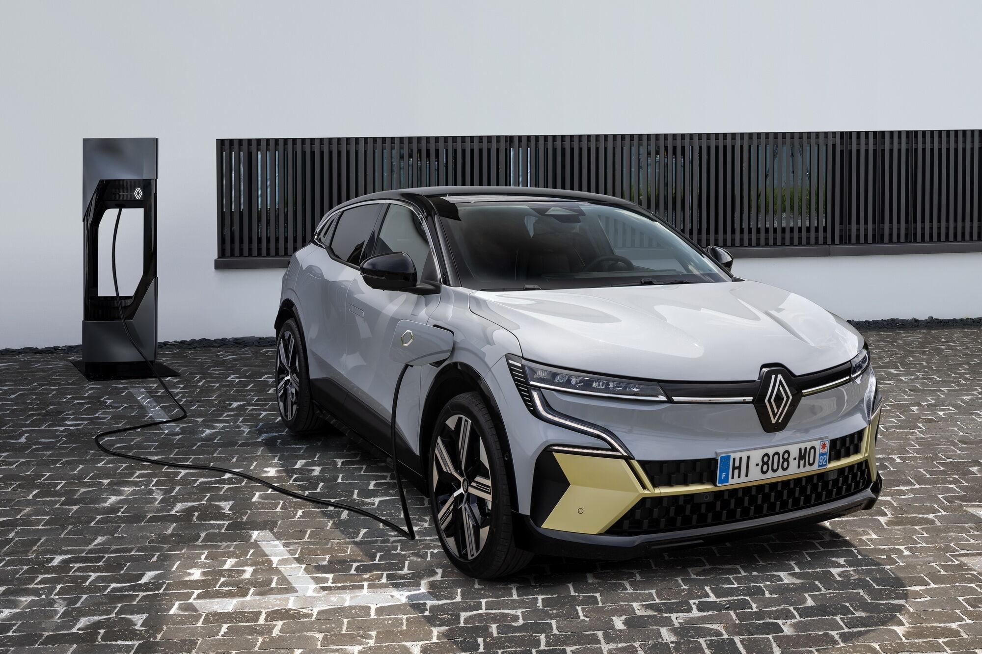 Новый Renault Megane стал электромобилем