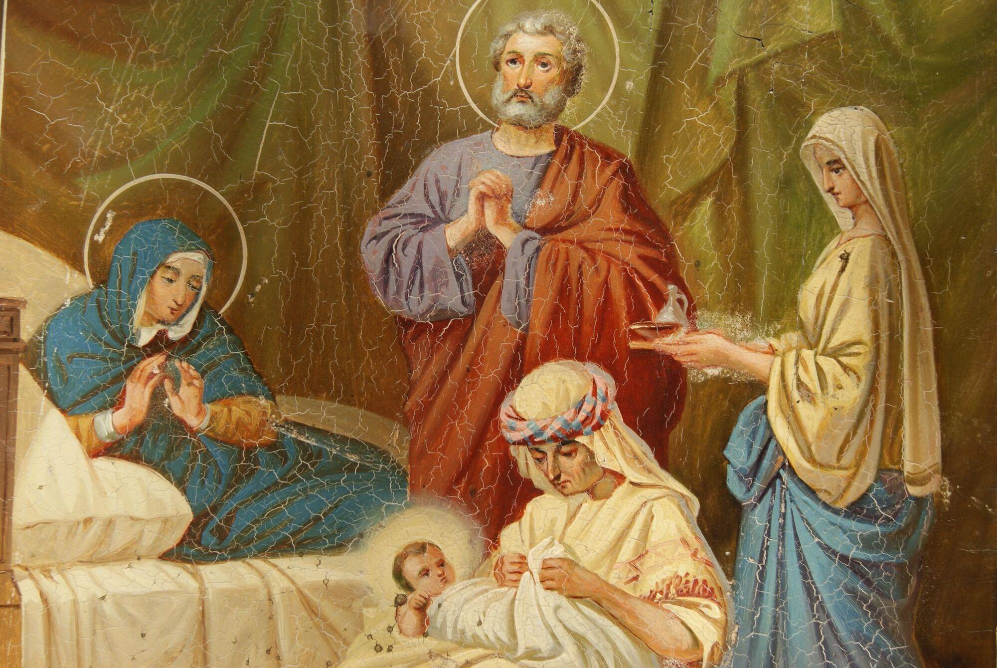 Родителями Богородицы были праведные Анна и Иоаким