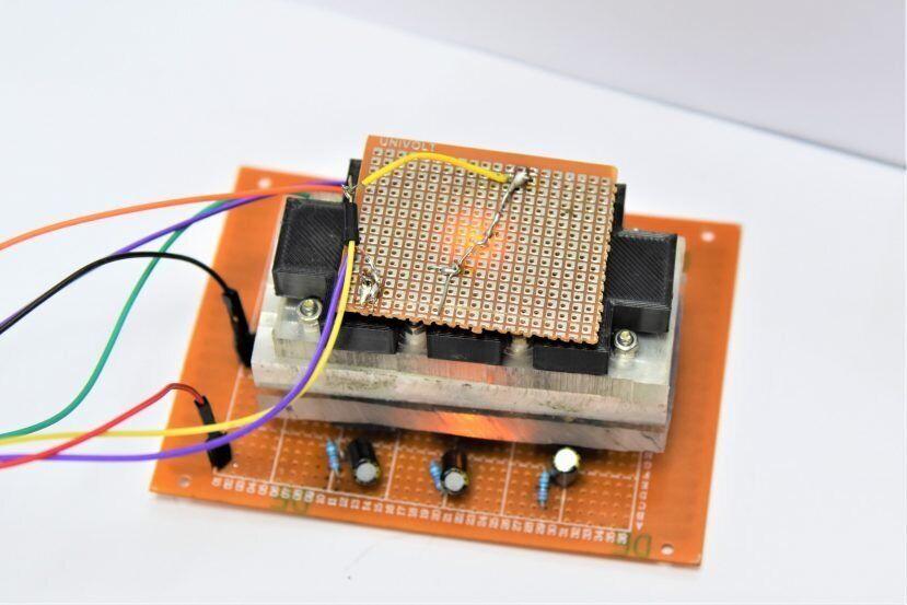Лаборатория на чипе.
