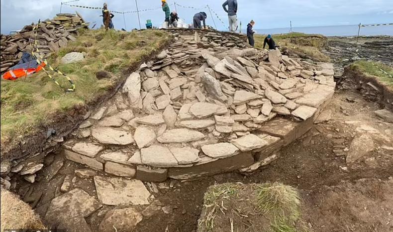 Раскопки в Шотландии
