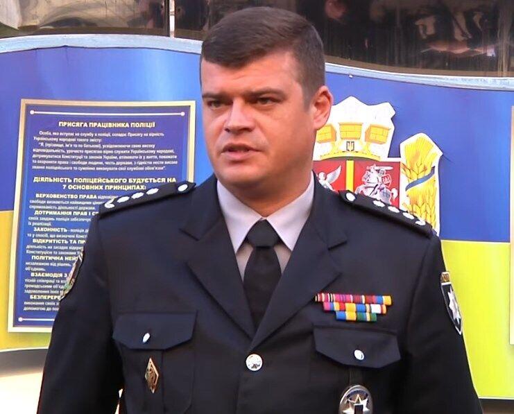Начальник ГУНП у Житомирській області Артем Лисогор.