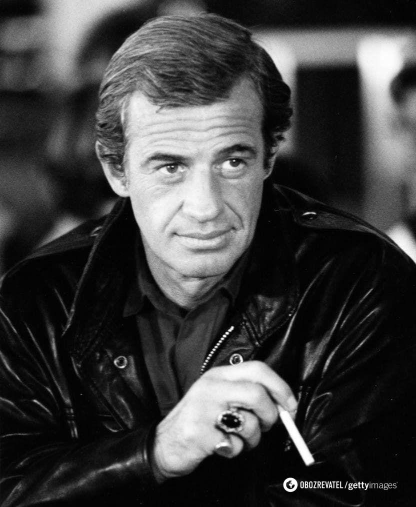 Актор Жан-Поль Бельмондо.