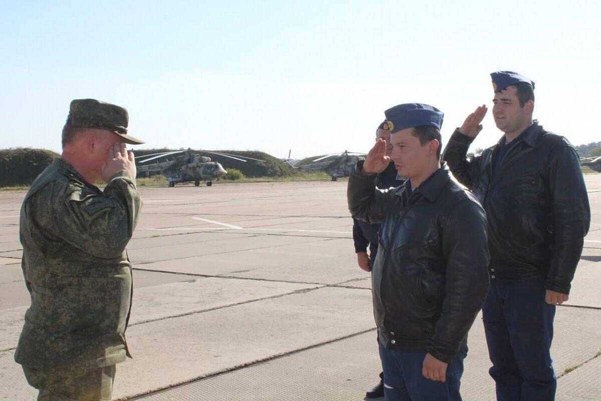 Самолеты перебросили в Барановичи