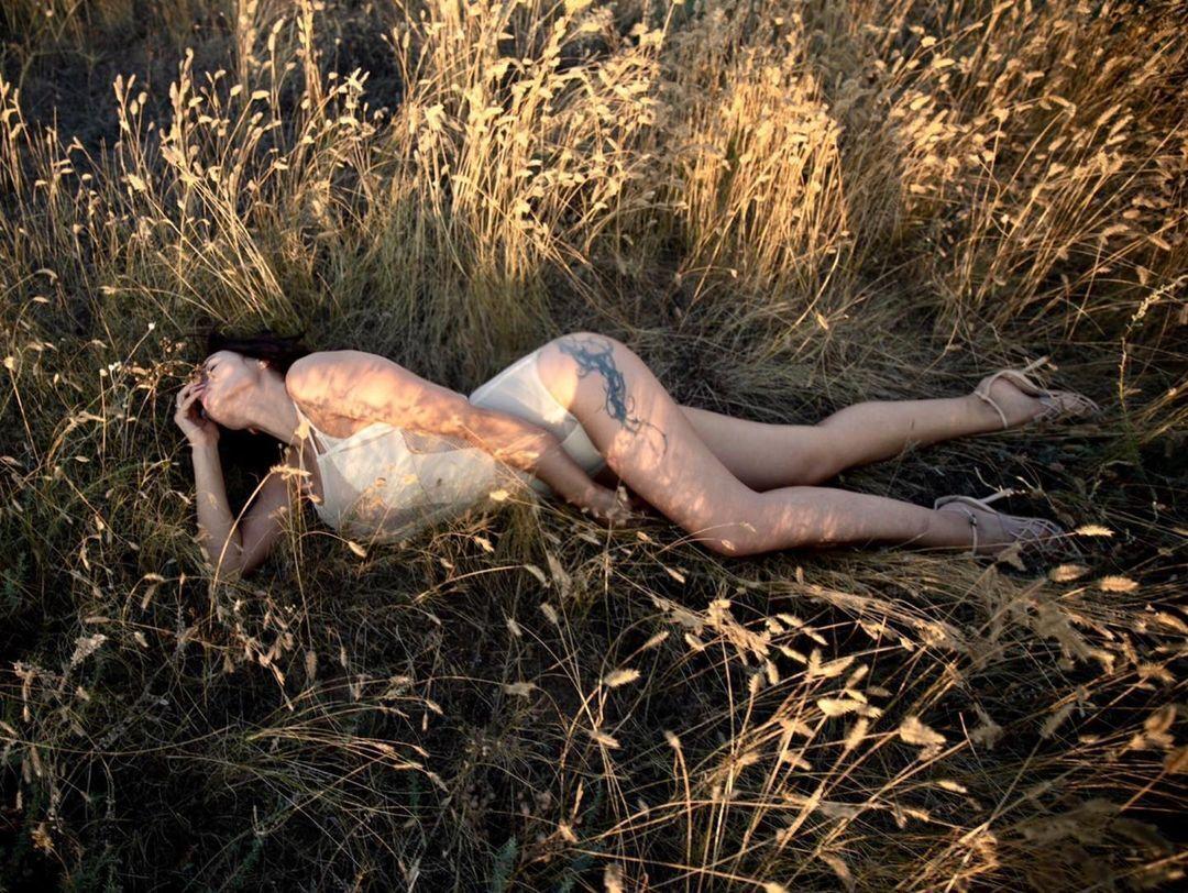 Кольоровий знімок Надії Мейхер.