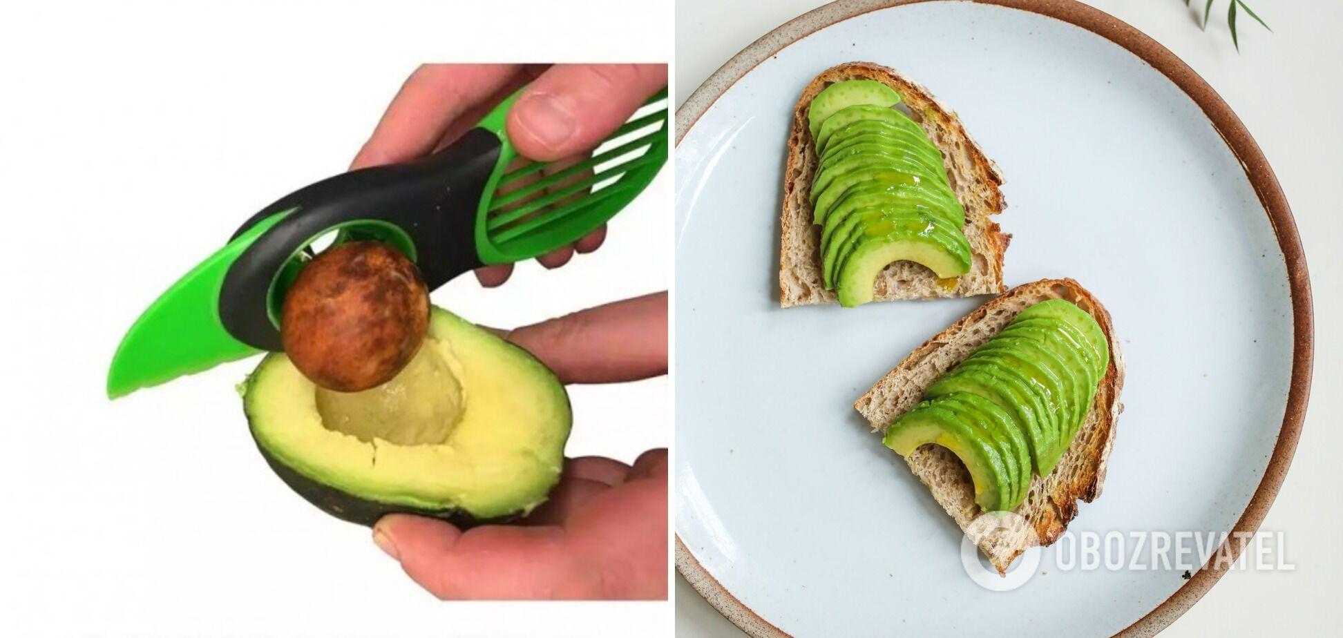 Слайсер для авокадо