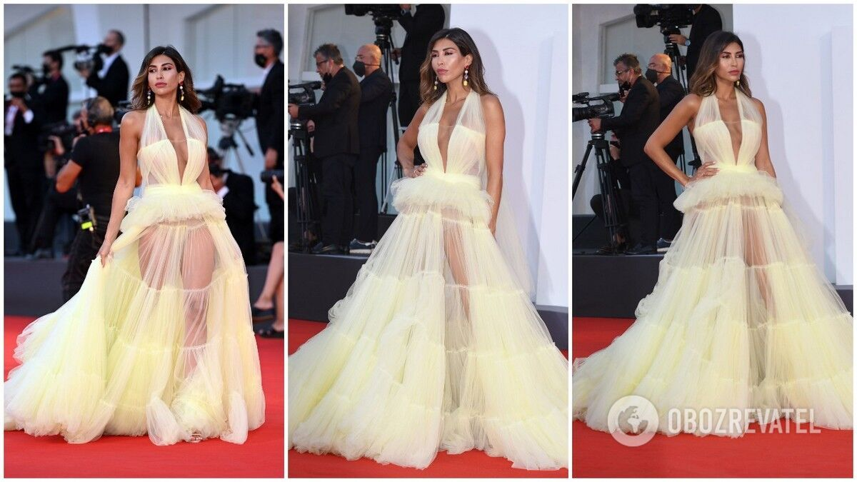 Платье Милы Суарез не оставляло простора для фантазии
