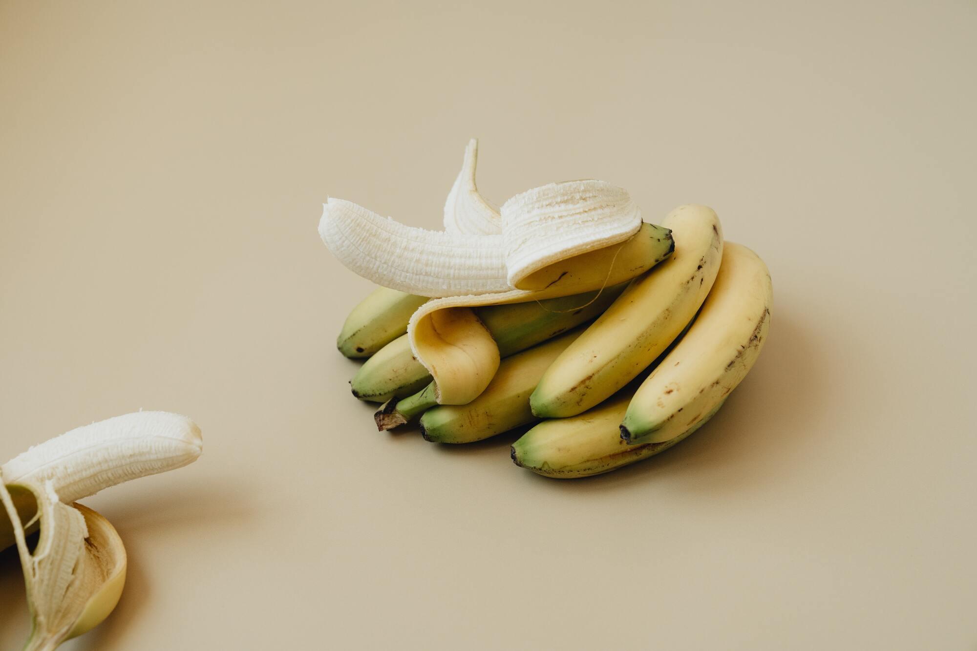 Банан може бути відмінним перекусом