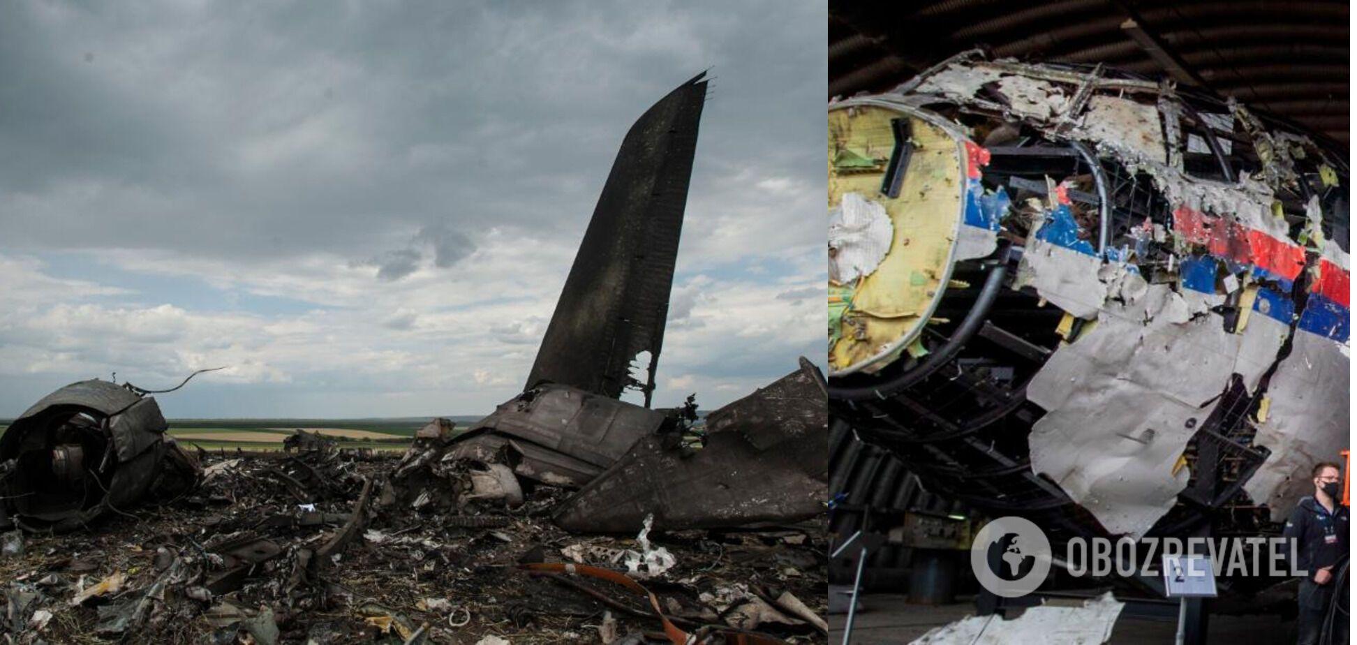 Наемники признавались в причастности к сбиванию украинской военного самолета и рейса МН17 на Донбассе