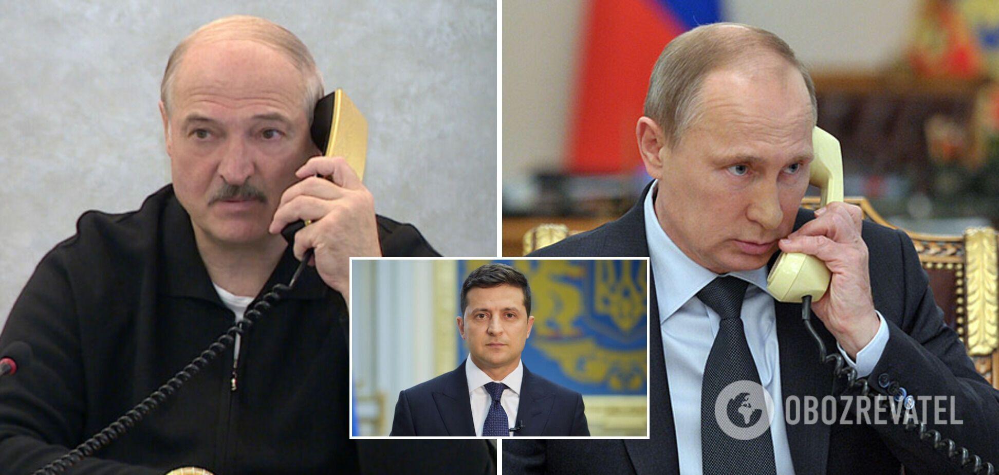 """Лукашенко после разговора с Путиным отказал Зеленскому в выдаче """"вагнеровцев"""""""