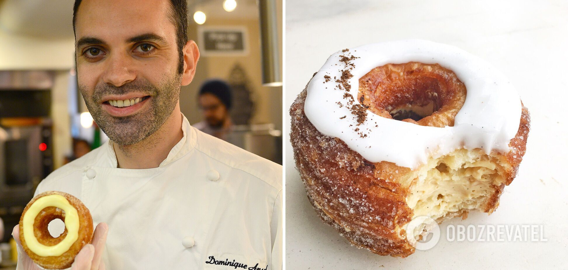 Американський круасан у пекарні Dominique Ansel Bakery