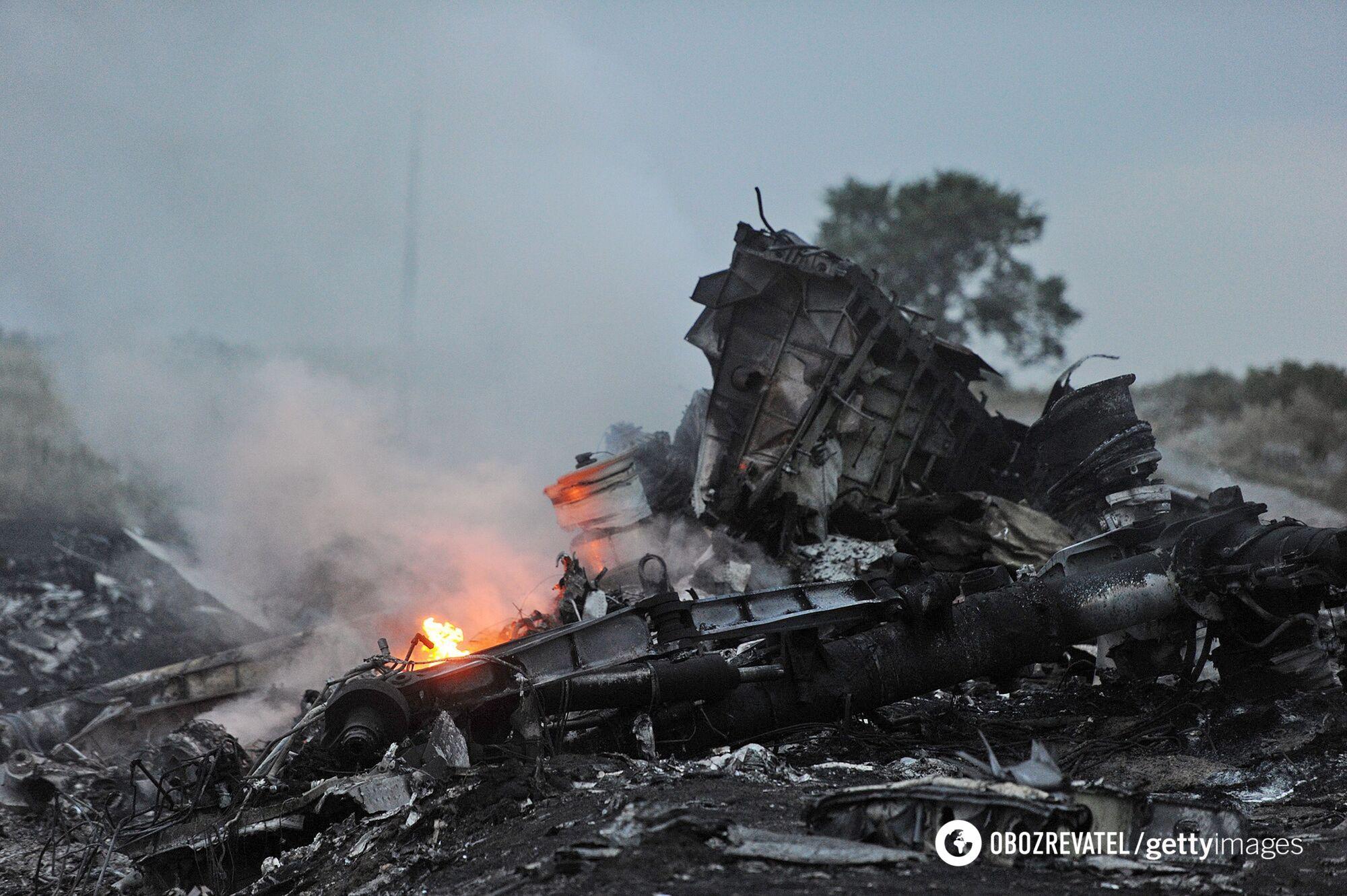 Збитий на Донбасі рейс МН17, 2014 рік