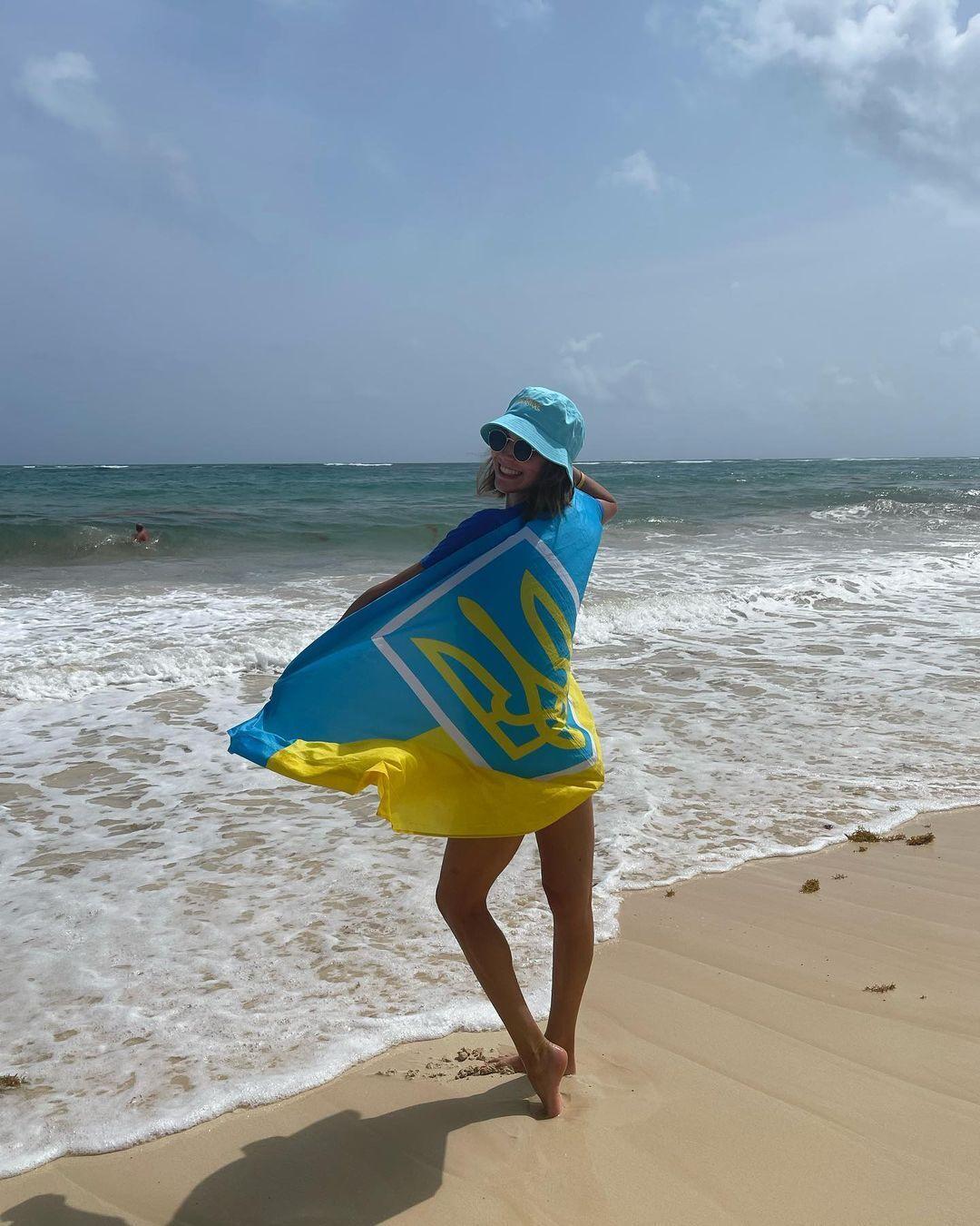 Марта Федина поздравила Украину с 30-летием