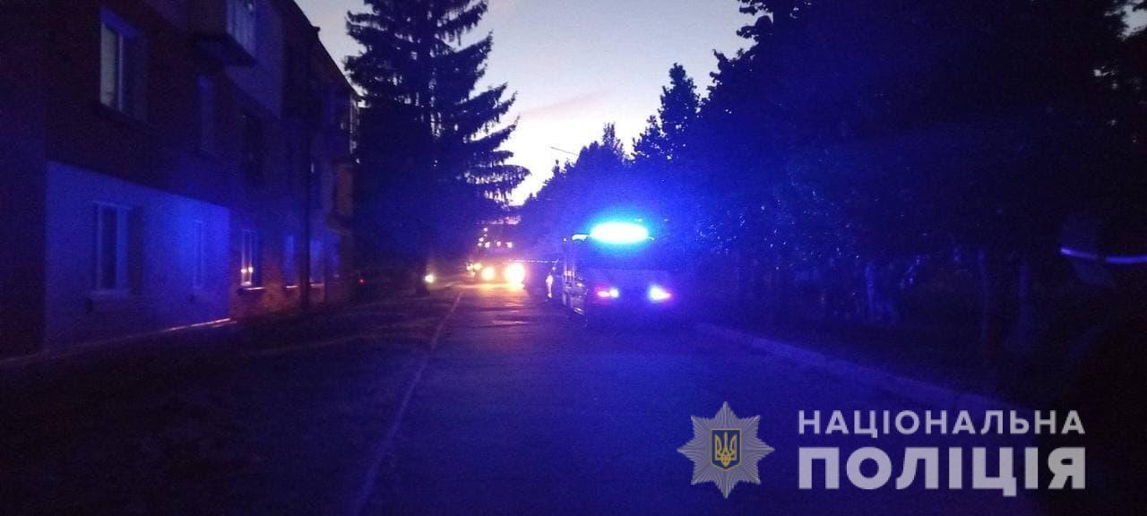 Поліцейські забезпечили евакуацію мешканців