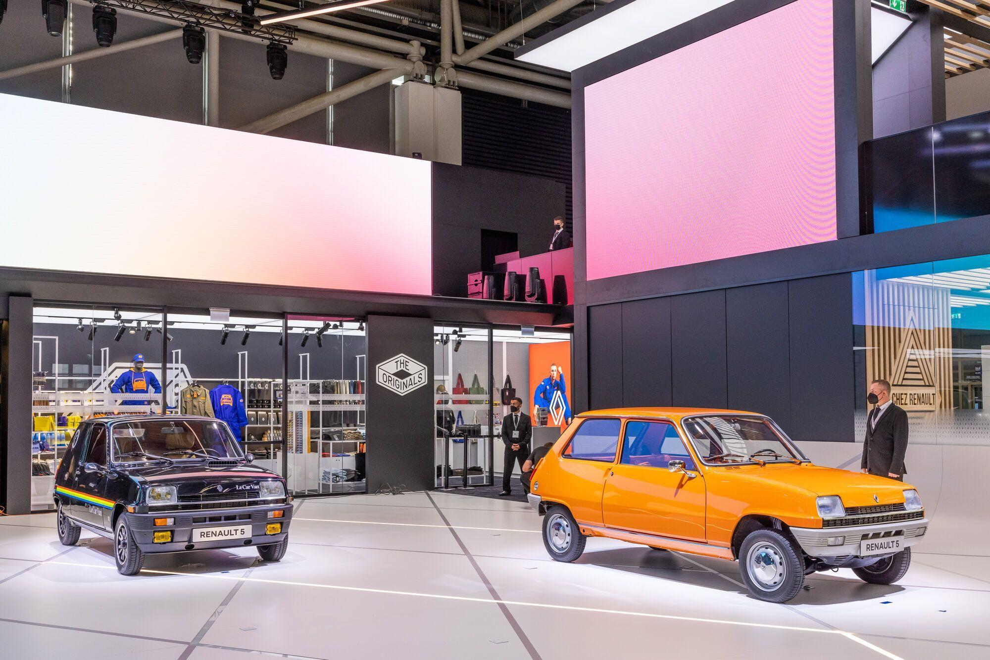 Источником вдохновения для прототипа послужила легендарная модель Renault 5