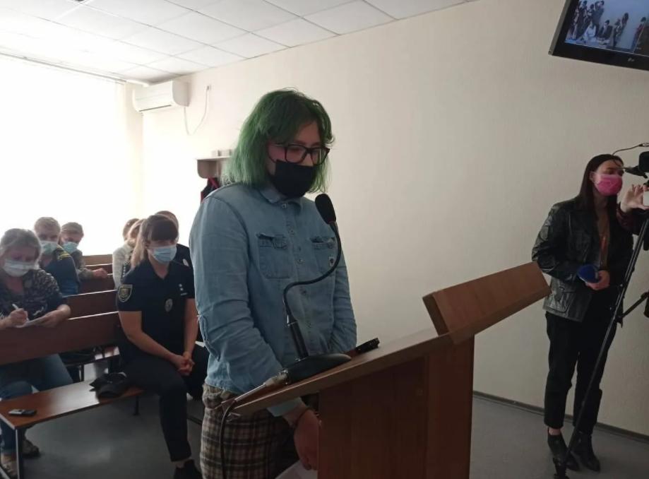 Таїсія Петрова на суді