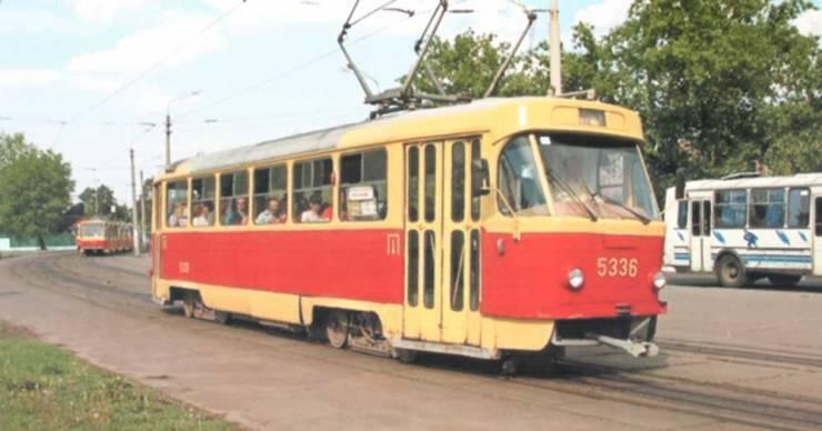 Пражские трамваи в столице