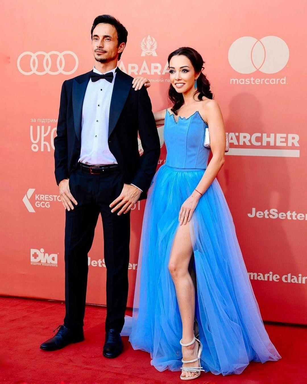 Катерина Кухар та її чоловік Олександр Стоянов.