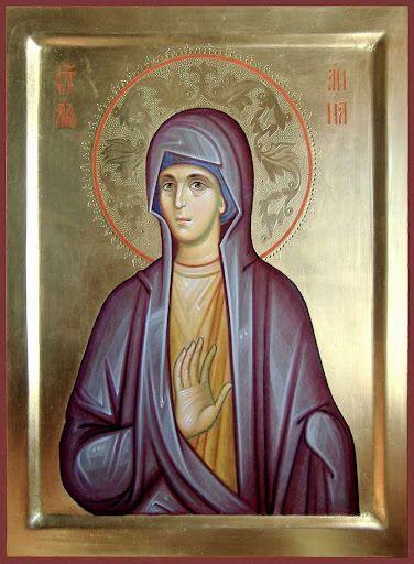 10 вересня церква вшановує пам'ять Анни Пророчиці