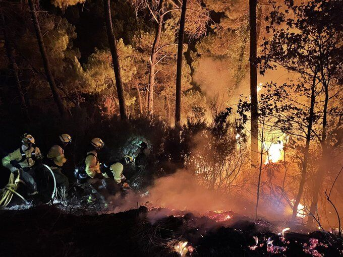 Пожежа в Іспанії