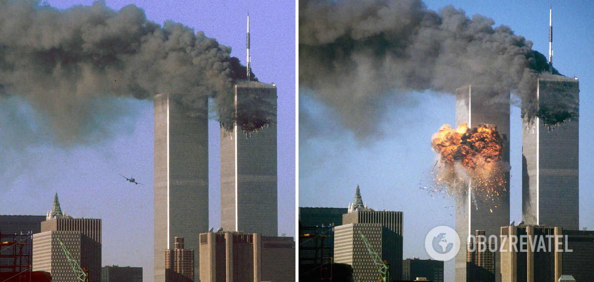 Два самолета направили на самые высокие на тот момент здания в Нью-Йорке