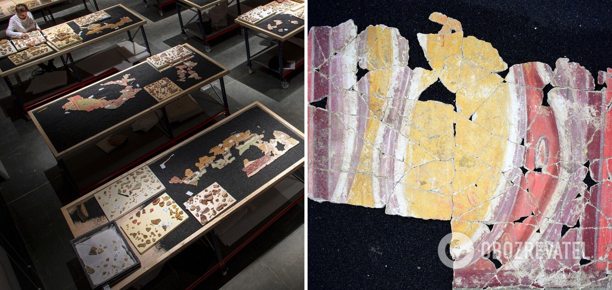 Древние фрески из Дома арфиста