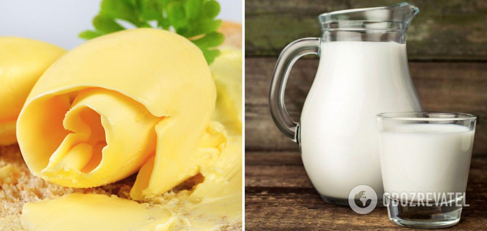 Домашнє масло з молока