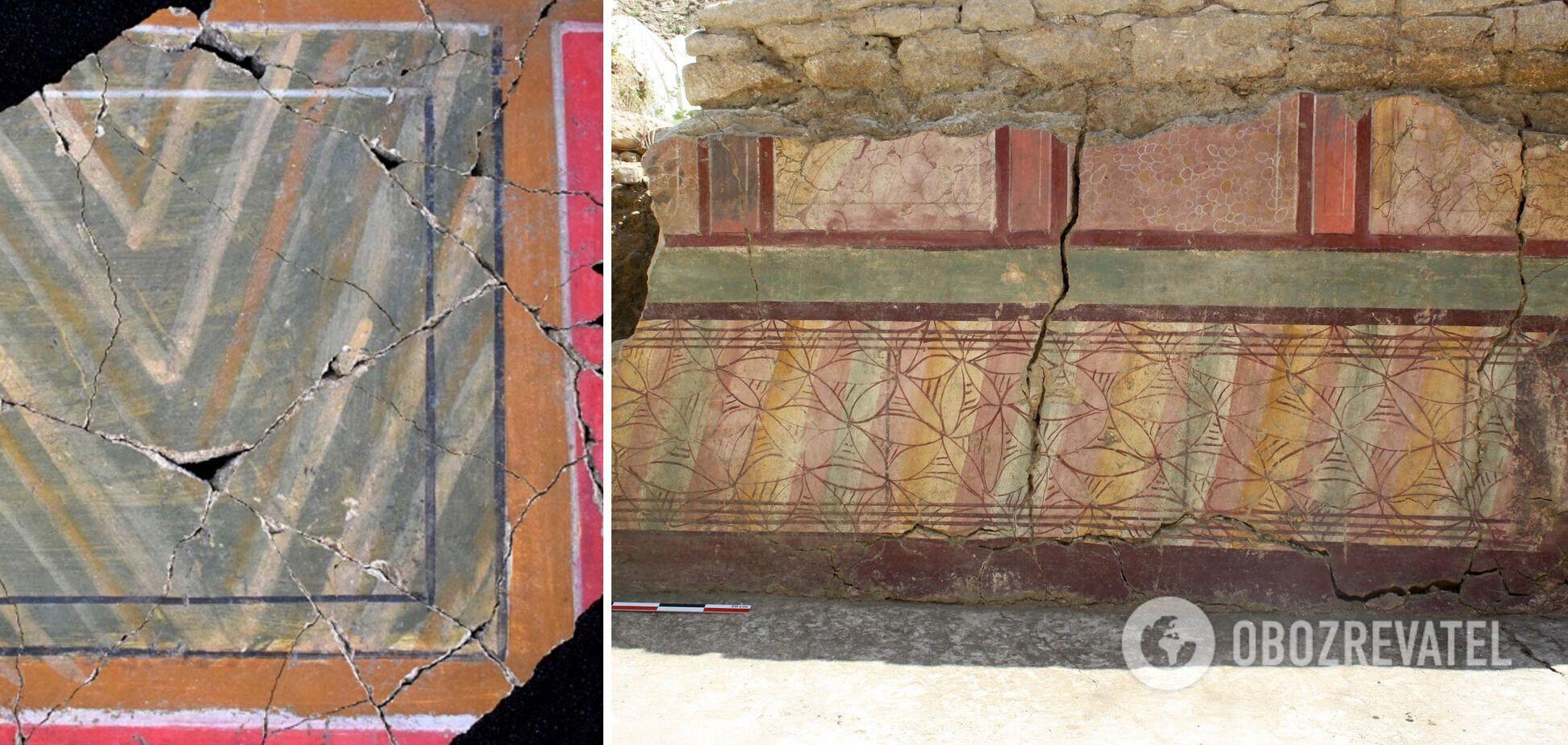 Древние фрески, которым может быть более 2 тыс. лет