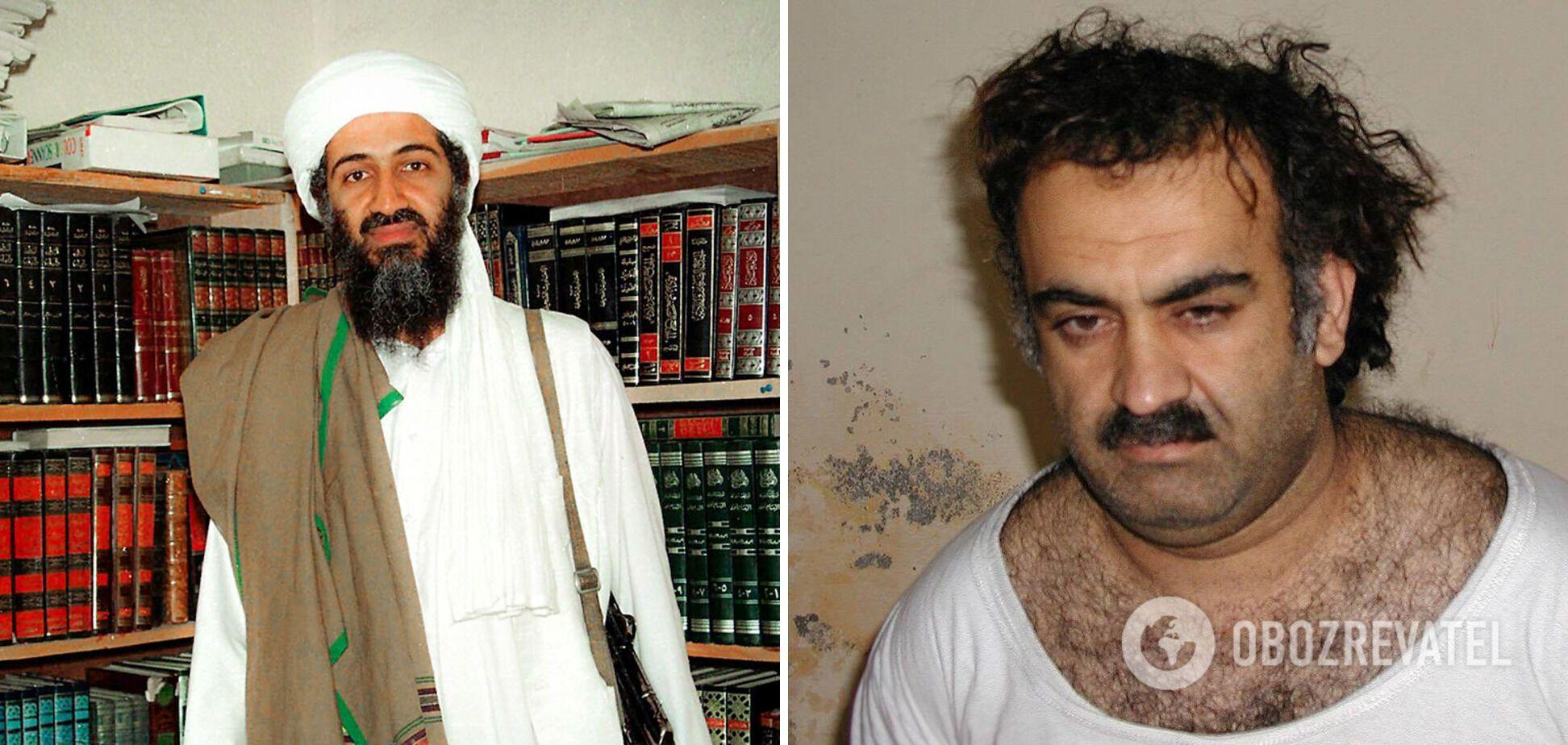 Слева – Усама бен Ладен; справа – Халид Шейх Мохаммед
