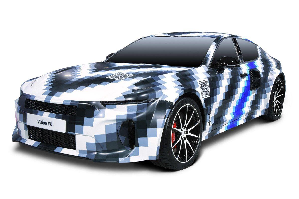 Концептуальный спорткар Vision FK с гибридной силовой установкой