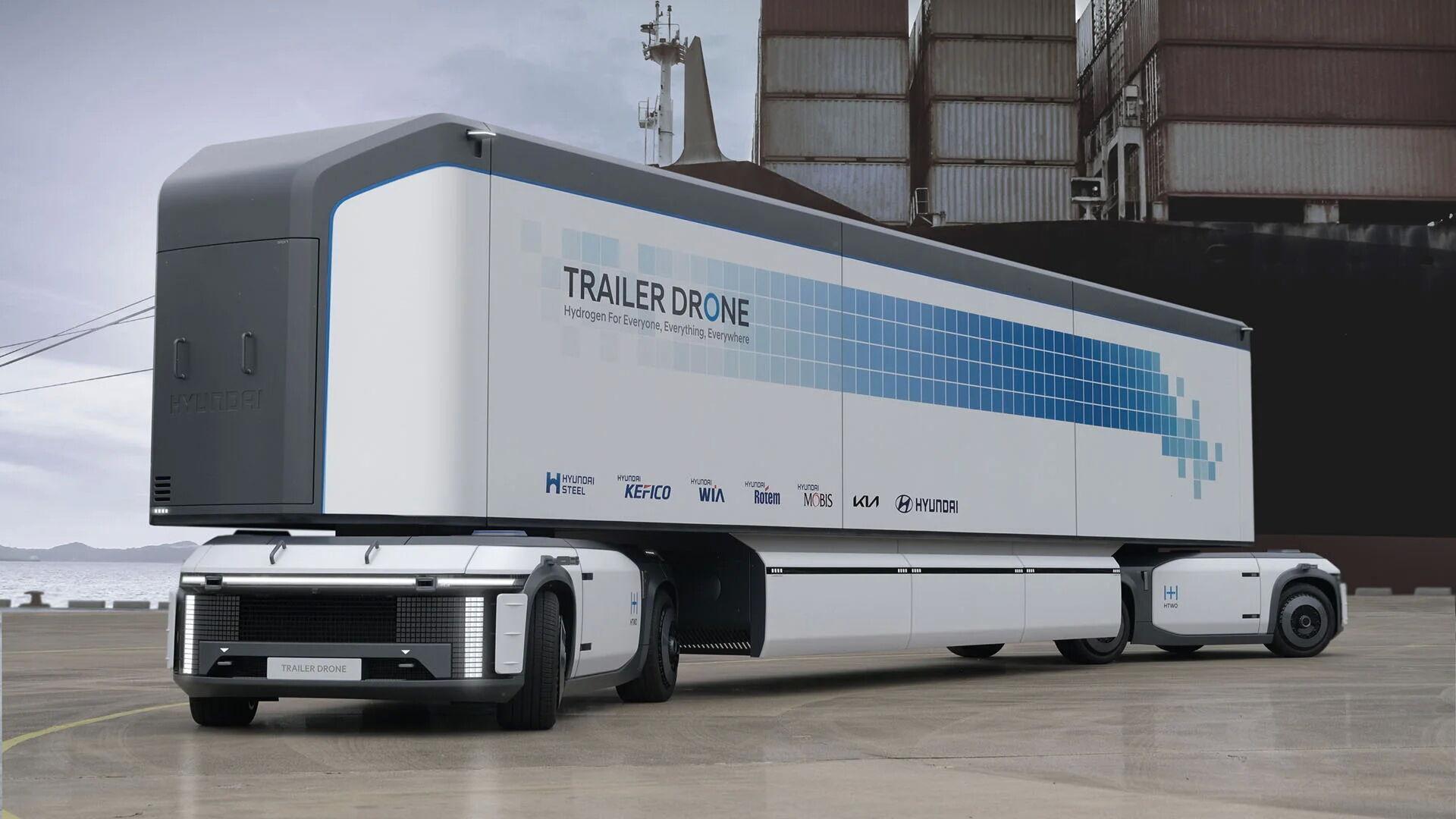 e-Bogie может использоваться самостоятельно или вместе с аналогичной платформой для перевозки крупногабаритных грузов