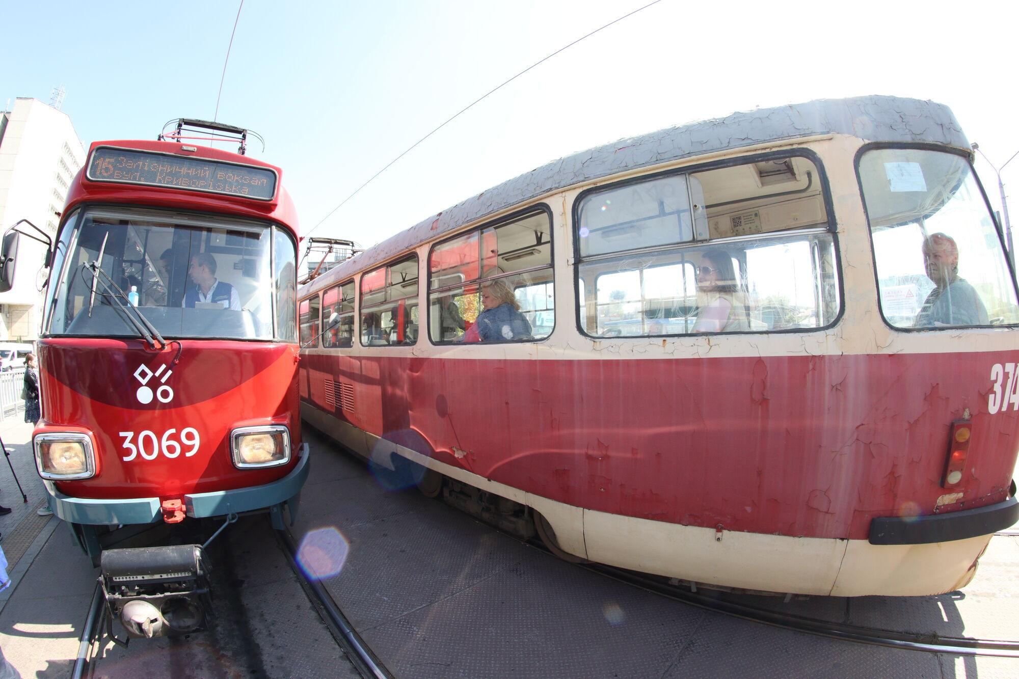 Полученные ранее трамваи курсируют на маршрутах №5, №11, №12