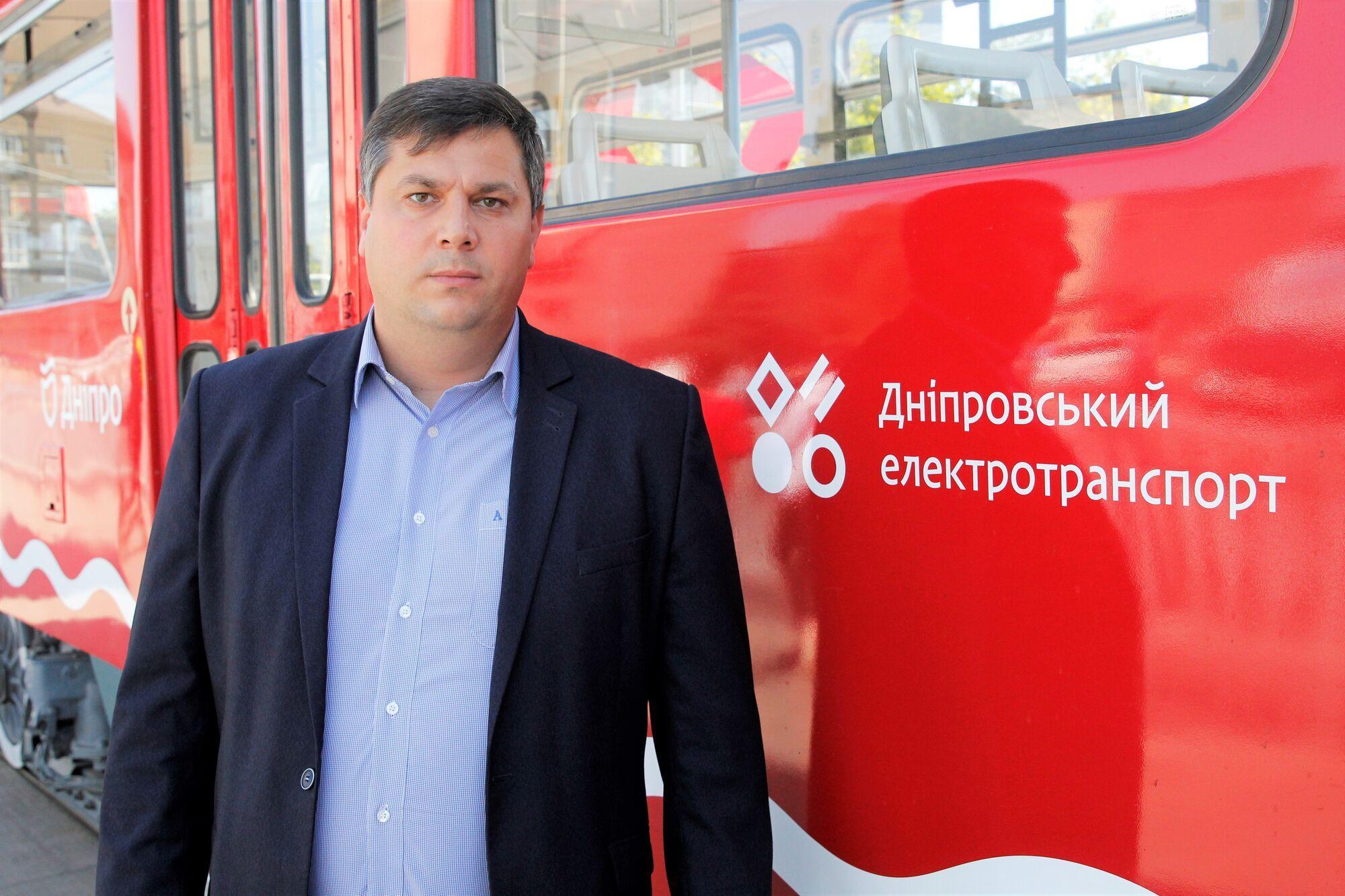 Директор департамента транспорта и транспортной инфраструктуры Днепровского городского совета Игорь Маковцев