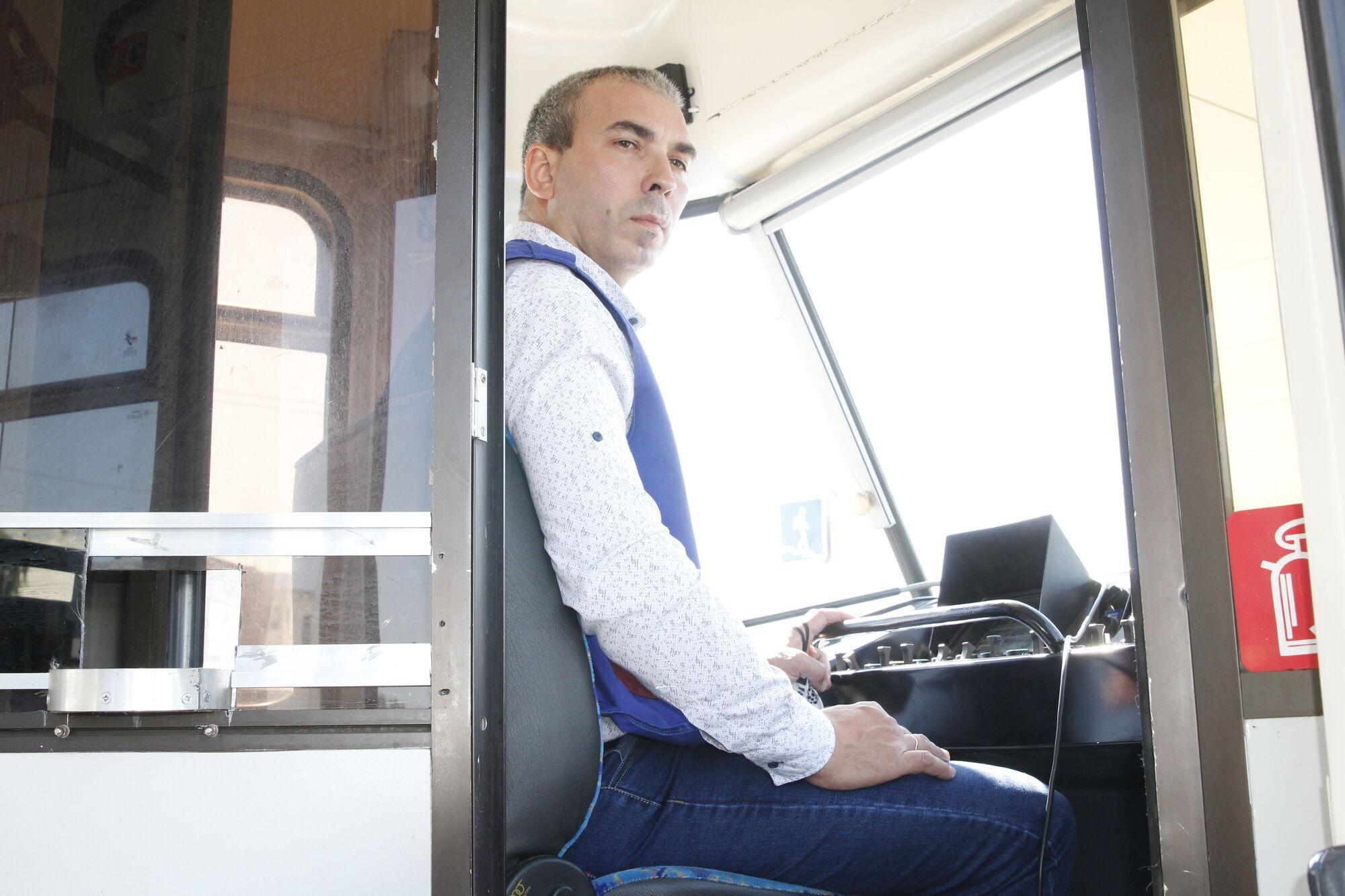 Водитель трамвая Максим Рудюк