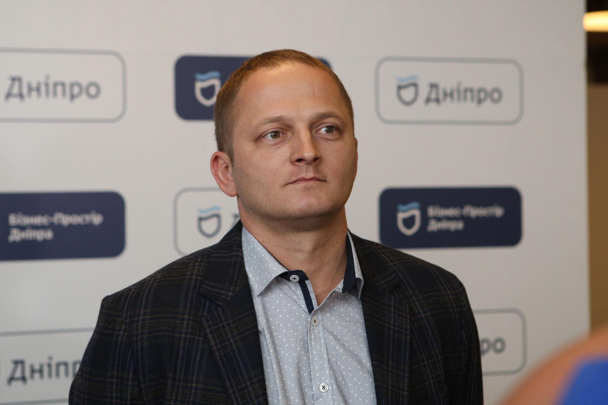 Директор департамента правового обеспечения Днепровского городского совета Артем Павлов