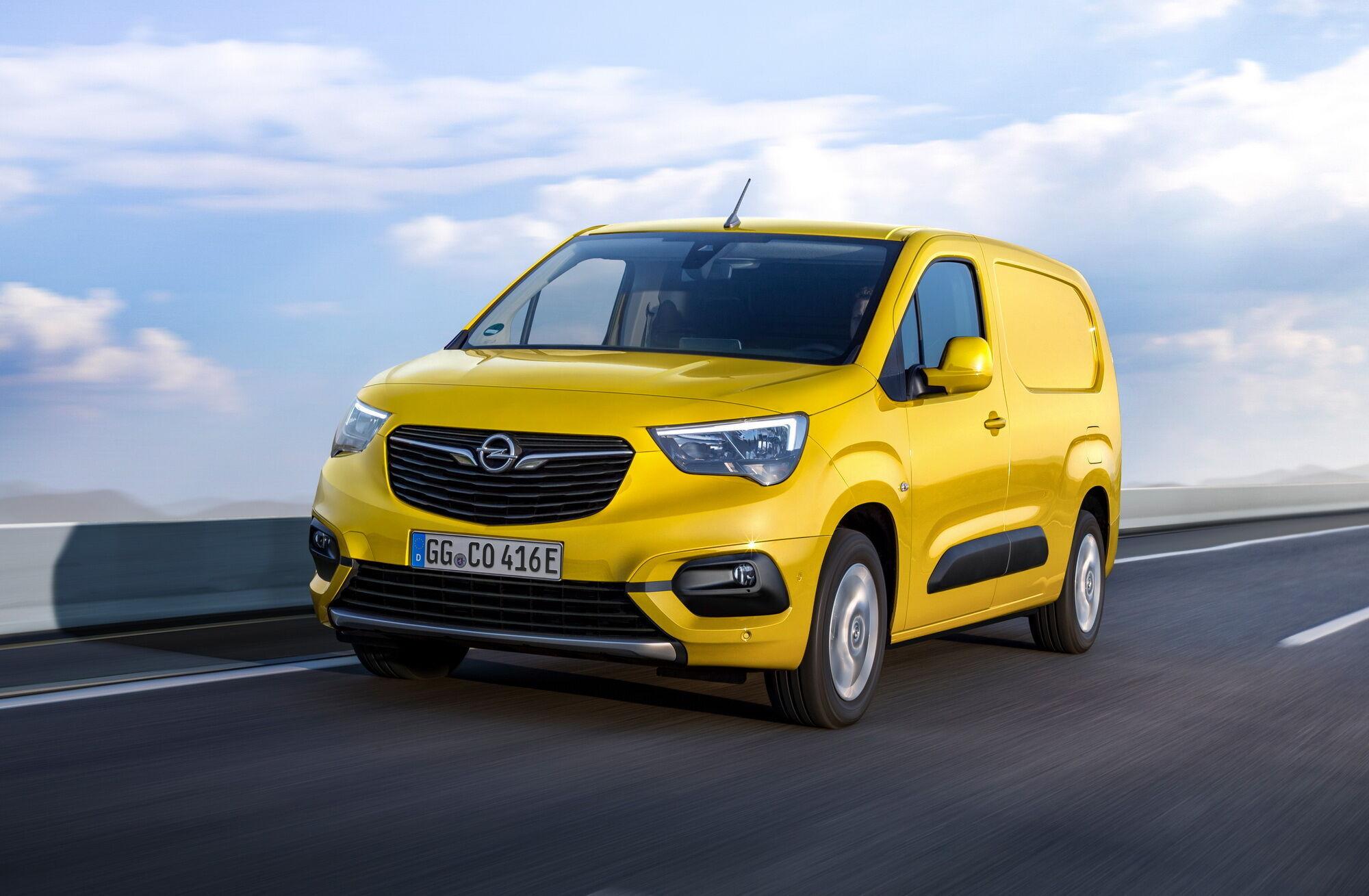 Новий Opel Combo-e Cargo здатний перевозити до 800 кг вантажів
