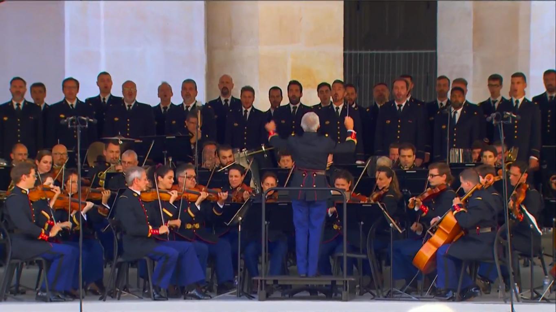 Оркестр на церемонії прощання