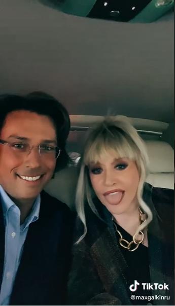 Алла Борисівна і Максим Галкін зняли відео під спільну пісню.