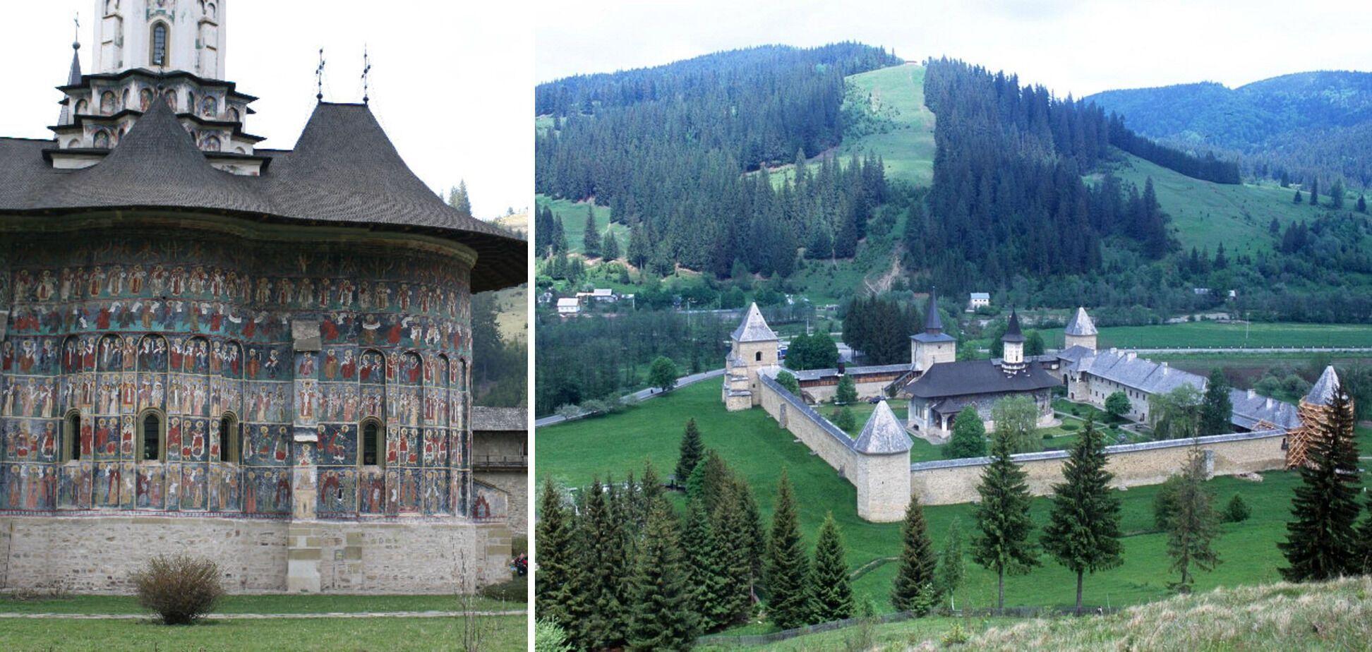 Сучевиця. Монастир-фортеця XVI століття.