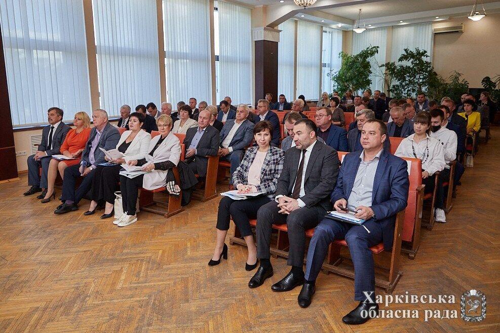 Товмасян на заседании Ассоциации органов местного самоуправления Харьковщины.