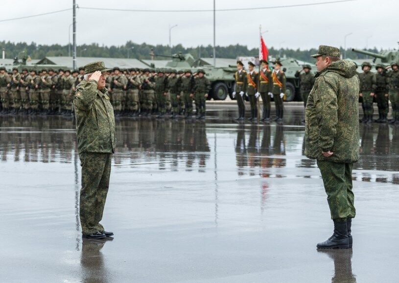 Учения будут проходить недалеко от границ Украины.