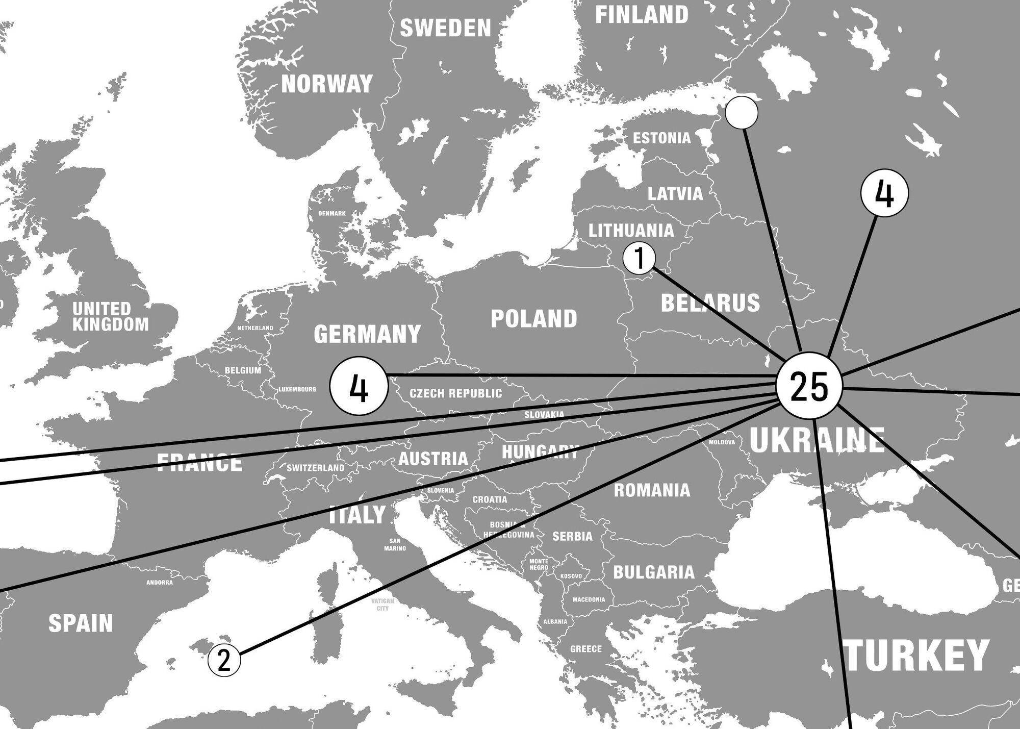 Карта связей