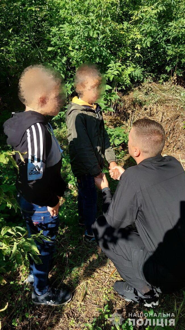 Ребенка нашли в кустах рядом с домом бабушки.